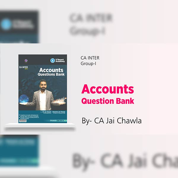 CA Inter Accounts Question Bank By CA Jai Chawla