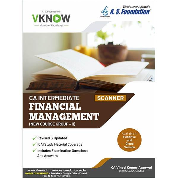 CA Inter Financial Management Scanner By CA Vinod k Agarwal