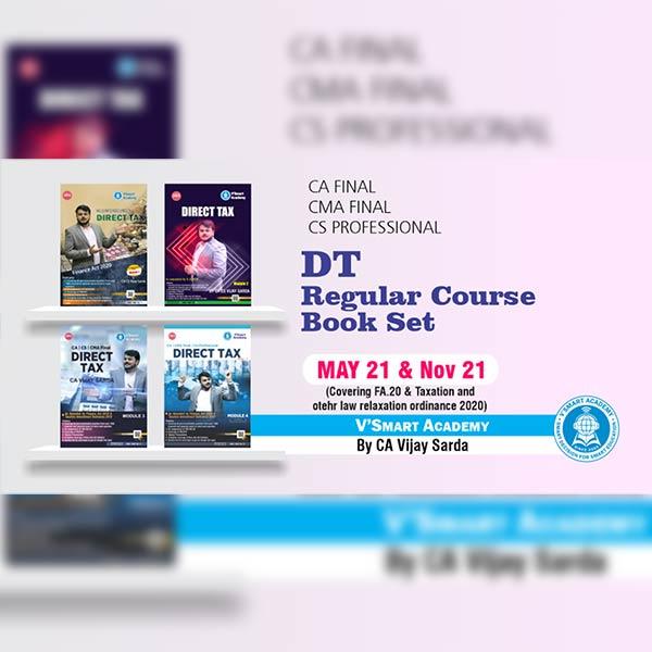 CA Final Direct Tax Books Set By CA CS Vijay Sarda