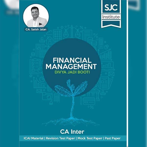 CA Final Financial Mang. Divya Jadi Booti By CA Satish Jalan