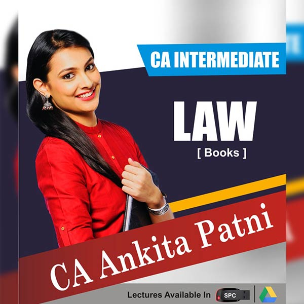 CA IntermediCA Intermediate Group I Corporate and Other Laws Books By CA Ankita Patniate Group I Corporate and Other Laws Books By CA Ankita Patni