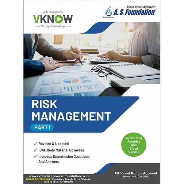 CA Final Risk Management Book By CA Vinod K Agarwal