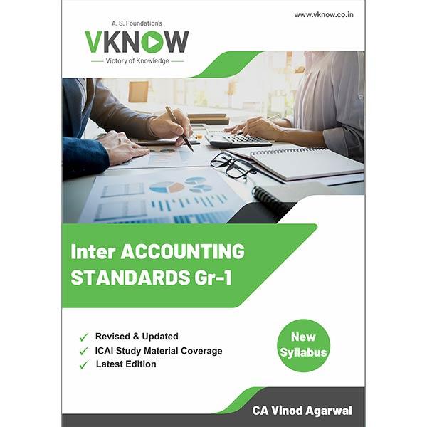 CA Inter Accounting Standard Group I Book By CA Vinod k Agarwal