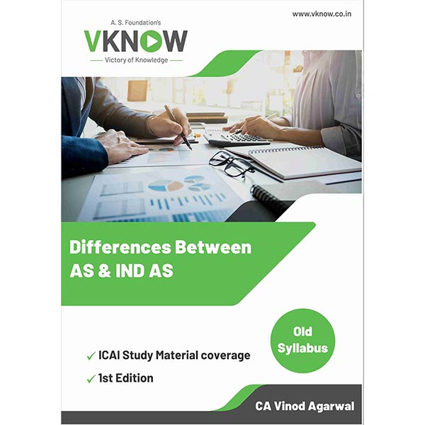CA Final Differences Between AS and IND AS By CA Vinod K Agarwal