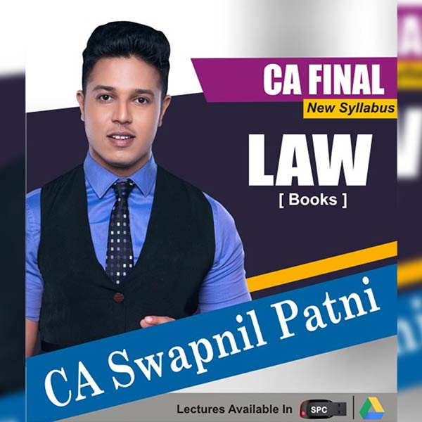 CA Final New Syllabus Group I Corporate and Economic Laws Chart Book By CA Swapnil Patni