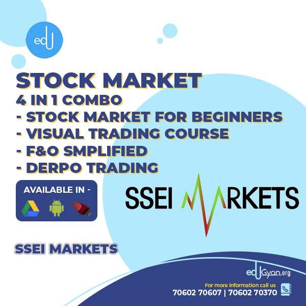 Stock Market All Couse Combo By CA Tanish Mangal & CFA Sanjay Saraf & Guddu Kr. Shaw