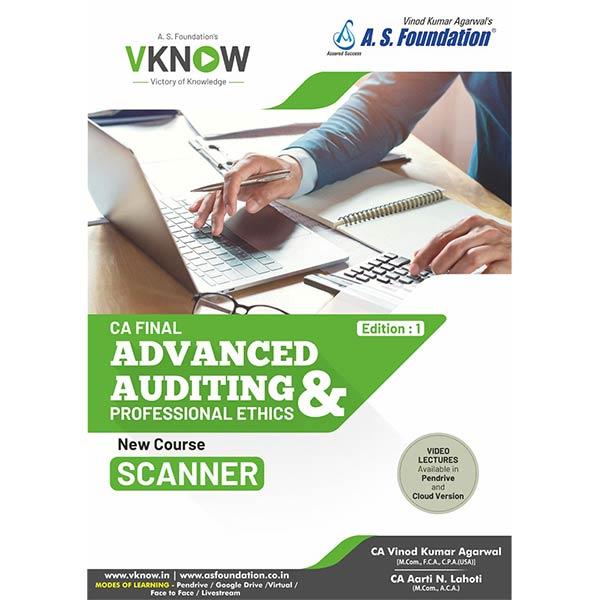 CA Final Audit Scanner By CA Aarti Lahoti