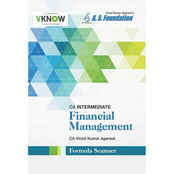 CA Inter Financial Management Summary Book By CA Vinod k Agarwal