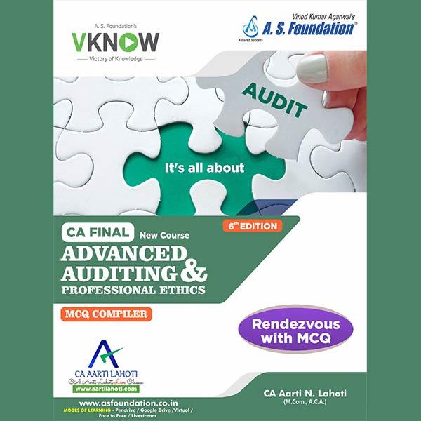 CA Final Audit Module III By CA Aarti Lahoti