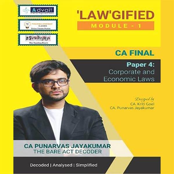 CA Final Corporate and Economic Laws Module I By CA Punarvas Jayakumar