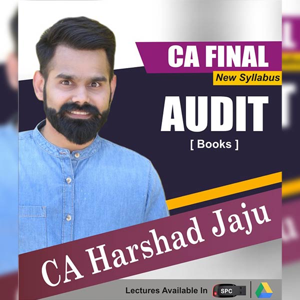 CA Final New Syllabus Group I Advanced Auditing and Professional Ethics Books Set By CA Harshad Jaju