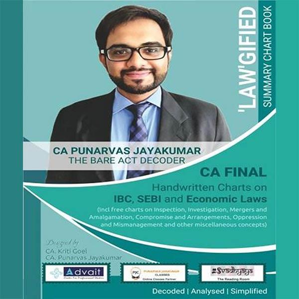 CA Final Corporate & Economic Laws Chart Book By CA Punarvas Jayakumar