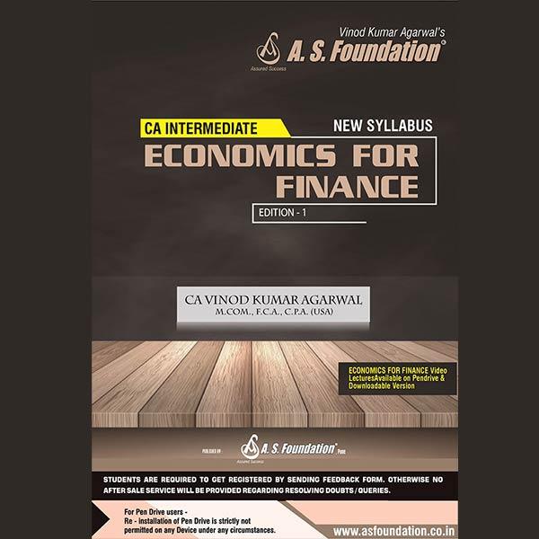 CA Inter Economics For Finance By CA Vinod k Agarwal