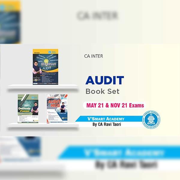 CA Inter Audit Book Set By CA Ravi Taori