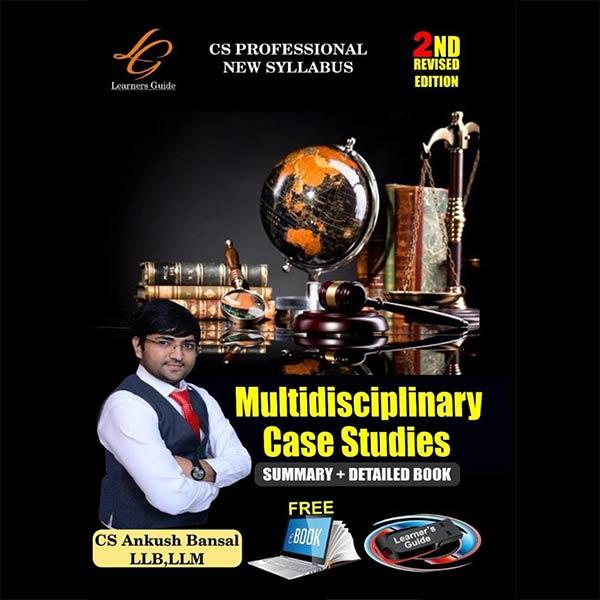 CS Professional Multidisciplinary Case Studies By CA Ankush Bansal
