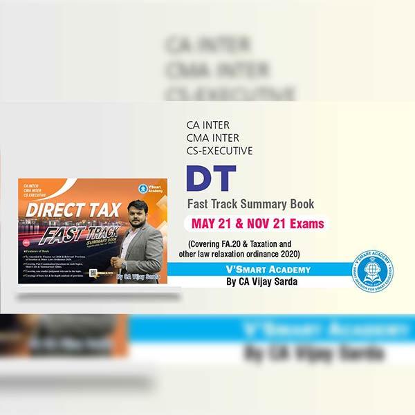 CA Inter DT Fast Track Summary Book By CA CS Vijay Sarda