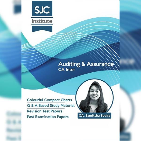 CA Inter Audit Colourful Charts & Question Bank By CA Samiksha Sethia