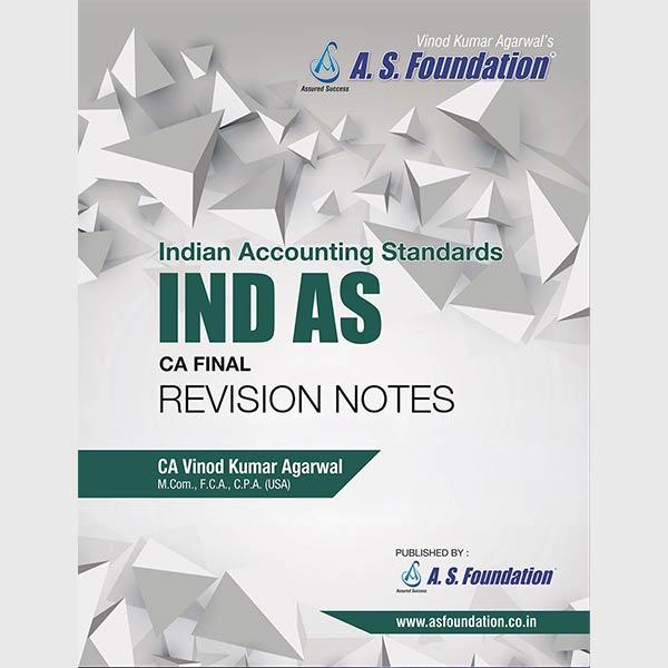CA Final Ind AS Revision By CA Vinod K Agarwal