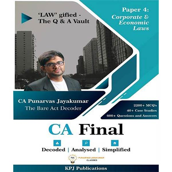 CA Final Corporate & Economic Law Q&A Vault By CA Punarvas Jayakumar
