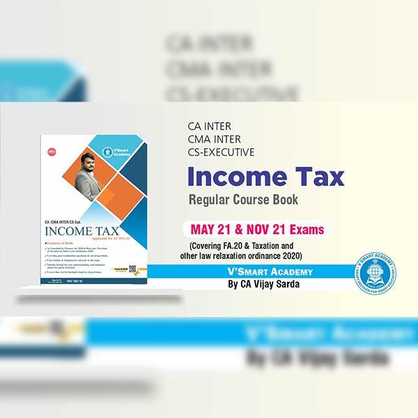 CA Inter Income Tax Books Set By CA CS Vijay Sarda