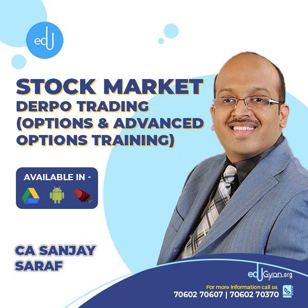 Stock Market Derpo Trading By CFA Sanjay Saraf