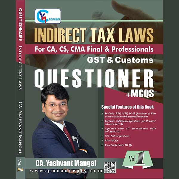 CA Final IDT (Main Book+Questionnaire+Summary) By CA Yashvant Mangal