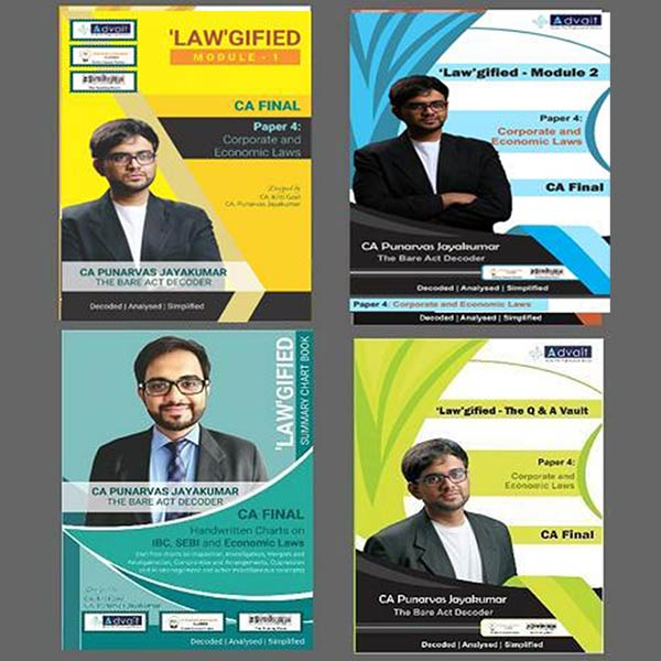 CA Final Corporate & Economic Law With Q&A By CA Punarvas Jayakumar