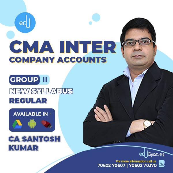 CMA Inter Company Accounts By CA Santosh Kumar