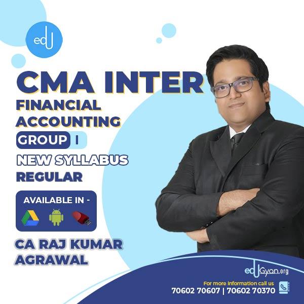 CMA Inter Financial Accounting By CA Raj K Agrawal