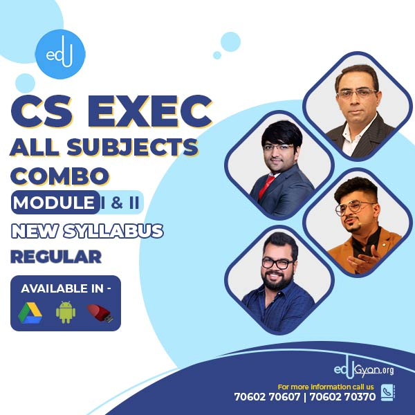 CS Executive Both Module Combo By VG Study Hub