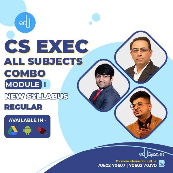 CS Executive Module I Combo By VG Study Hub
