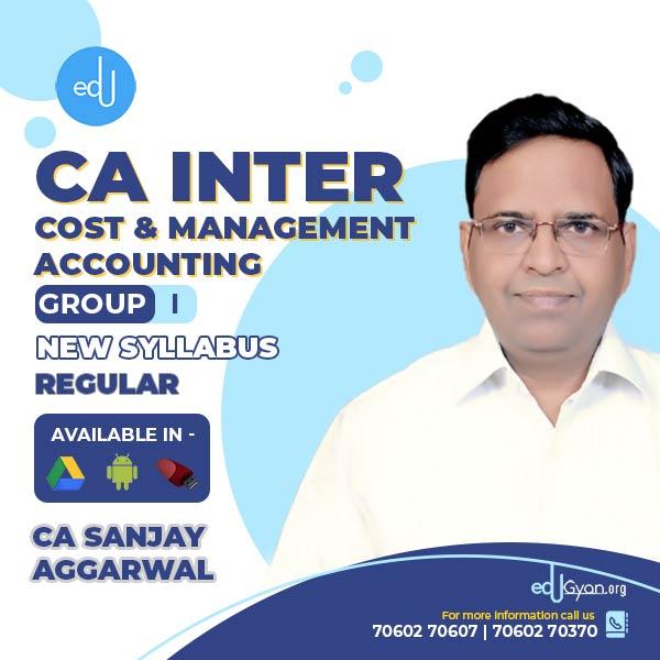 CA Inter Cost Accounting By CA Sanjay Aggarwal