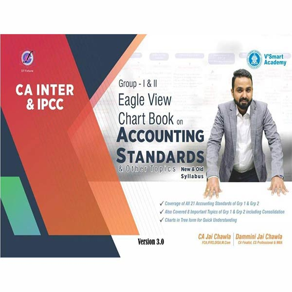 CA Inter Accounting Standards Eagle View Chart Book By CA Jai Chawla