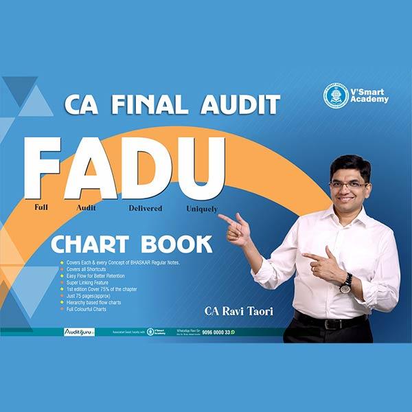 CA Final Audit Chart Book By CA Ravi Taori