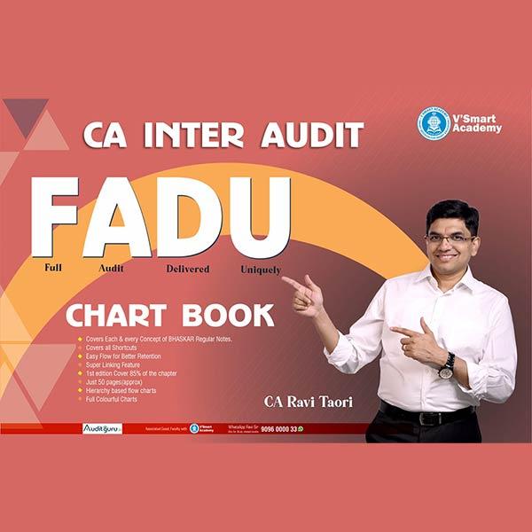CA Inter Audit Chart Book By CA Ravi Taori