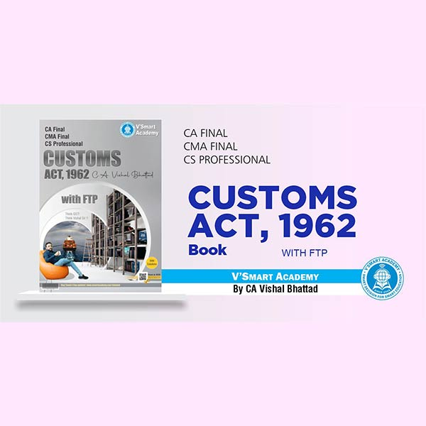 CA Final Custom Book By CA Vishal Bhattad
