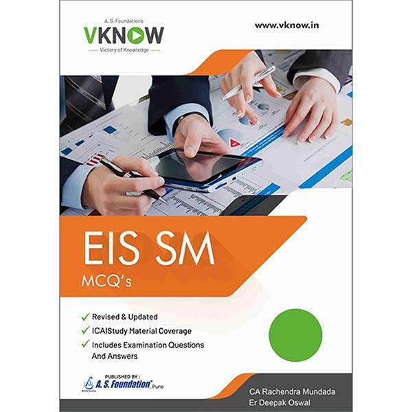 CA Inter EIS & SM - MCQ's BOOK By Er Deepak Oswal & CA Rachendra Mundada
