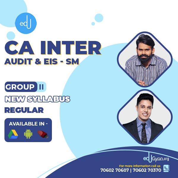 CA Inter Audit & EIS-SM Combo By CA Harshad Jaju & CA Swapnil Patni