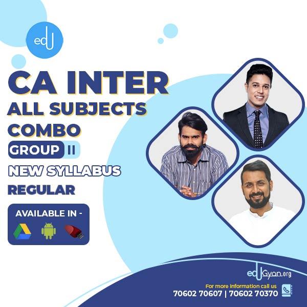 CA Inter Group- II Combo By Swapnil Patni Classes